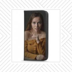 Etui rabattable portefeuille personnalisé pour Huawei P Smart S