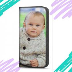 Etui pour Xiaomi Redmi Note 10 5G rabattable en portefeuille personnalisé