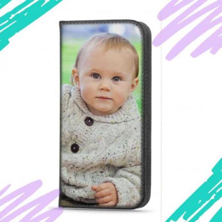 Etui pour Oppo A74 rabattable en portefeuille personnalisé
