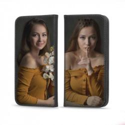 Etui pour Xiaomi Redmi 9a rabattable personnalisé recto verso