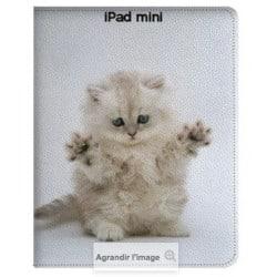 Etui cuir 360 personnalisé pour iPad Mini 1, 2,3 et retina à l'aide d'une photo