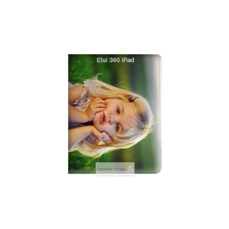 Etui rabattable 360 personnalisé pour iPad 1,2,3,4 à l'aide d'une photo