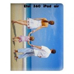 Etui cuir 360 personnalisé pour iPad Air à l'aide d'une photo