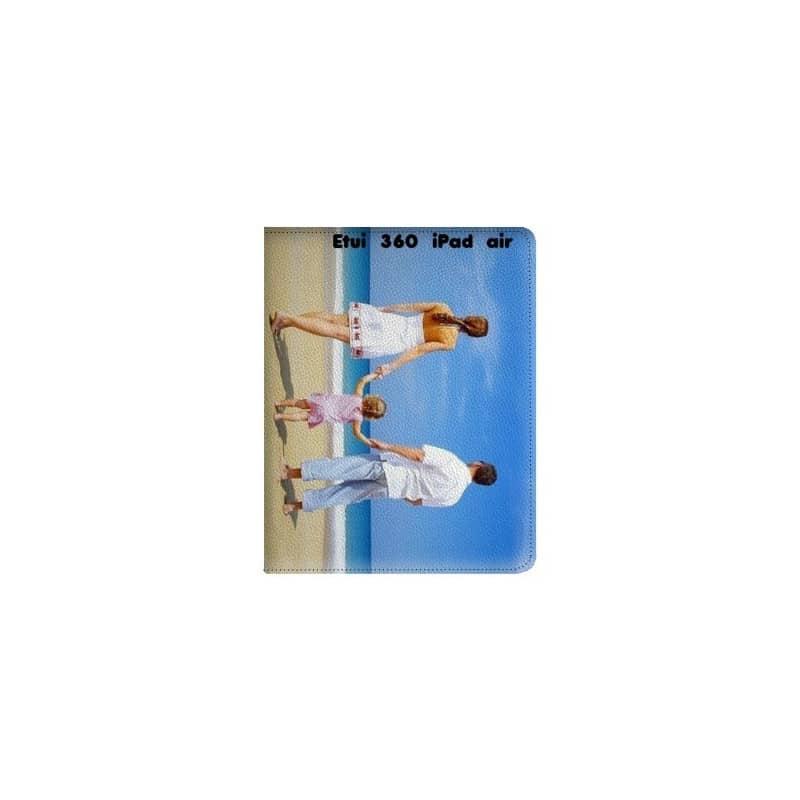 Etui rabattable 360 personnalisé pour iPad Air à l'aide d'une photo