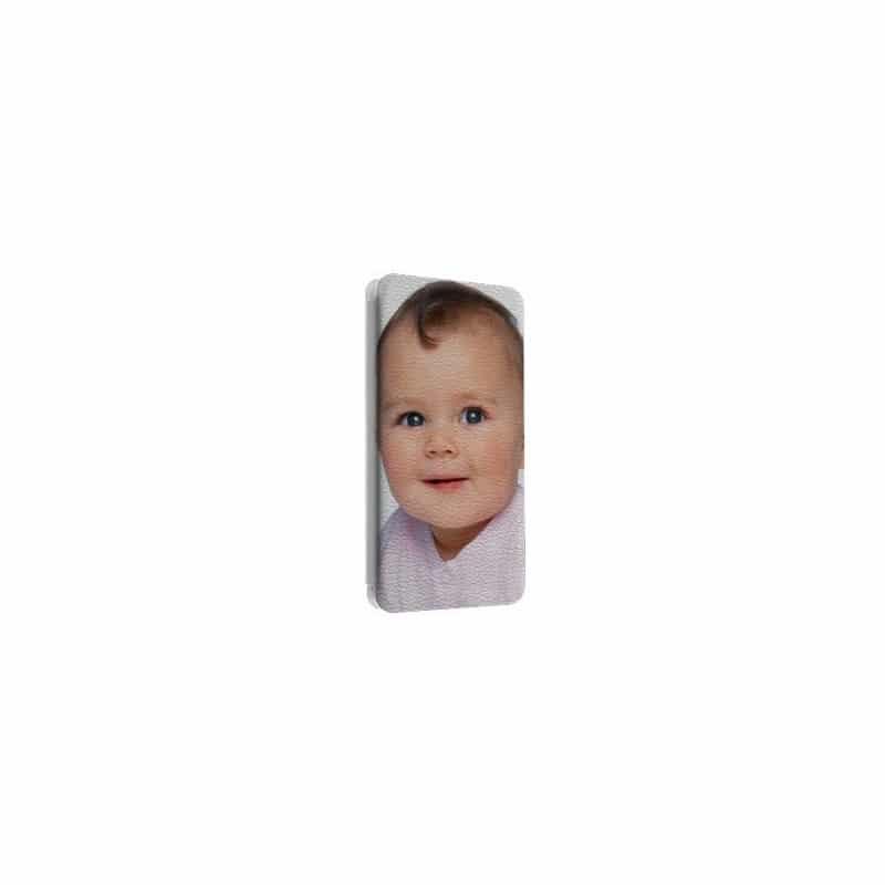 Etui rabattable portefeuille personnalisé pour Nokia Lumia 435 à l'aide d'une photo