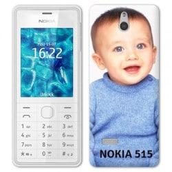 Coque personnalisée pour Nokia Lumia 515 à l'aide d'une photo