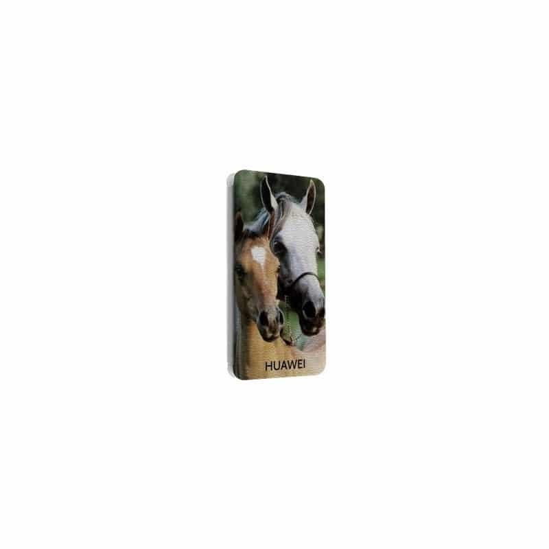 Etui rabattable portefeuille personnalisé pour huawei ascend P2 à l'aide d'une photo