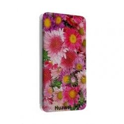 Etui cuir portefeuille personnalisé pour Huawei Ascend Mate 7 gold à l'aide d'une photo