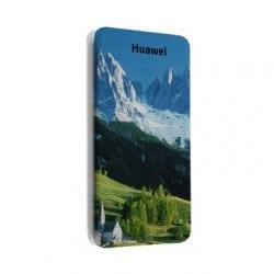 Etui cuir portefeuille personnalisé pour Huawei Ascend Y550 à l'aide d'une photo