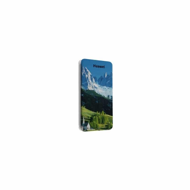 Etui rabattable portefeuille personnalisé pour Huawei Ascend W1 U8835 à l'aide d'une photo