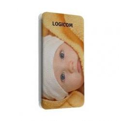 Etui cuir portefeuille personnalisé pour Quadcore 5'' LITE 502