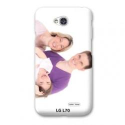 Coque personnalisée pour LG optimus L70 à l'aide d'une photo