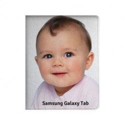 Etui rabattable personnalisé pour Samsung Galaxy Tab 7 Pouces P3100 à l'aide d'une photo