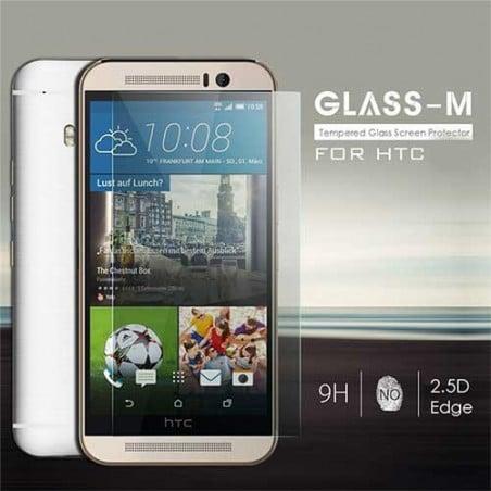 FILM de protection EN VERRE TREMPE pour HTC M9