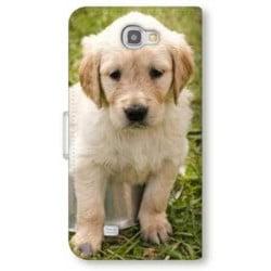 Etui cuir portefeuille personnalisé pour Samsung Galaxy S7 à l'aide d'une photo