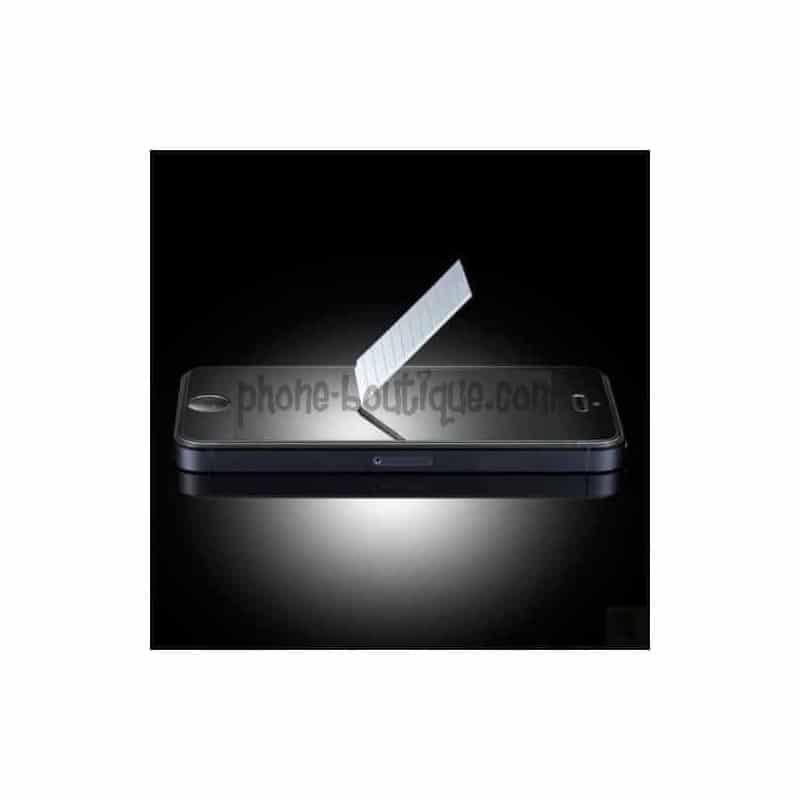 FILM de protection EN VERRE TREMPE pour iPhone SE