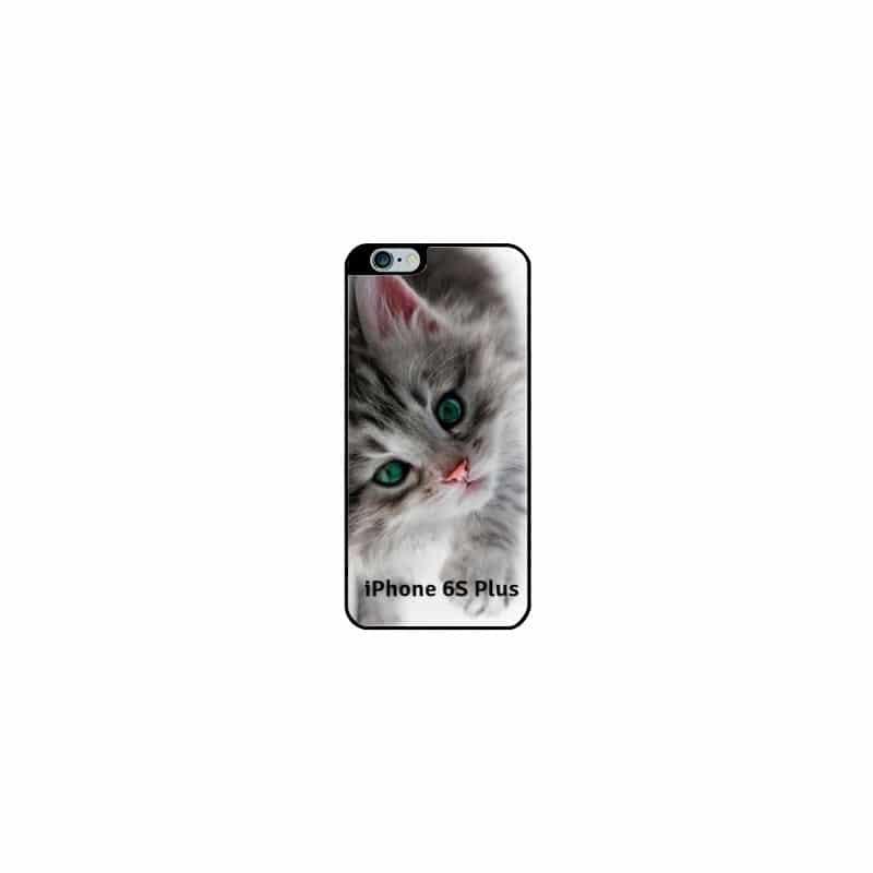 Coque souple personnalisée en silicone pour iPhone 6S Plus