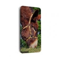 Etui cuir portefeuille personnalisé pour Huawei Y3