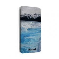 Etui cuir portefeuille personnalisé pour Huawei honor 7