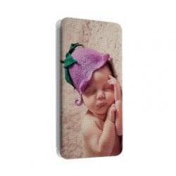 Etui cuir portefeuille personnalisé pour HTC 10