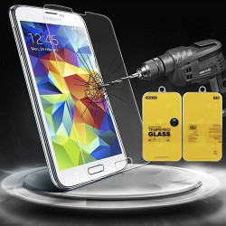 FILM de protection EN VERRE TREMPE pour GALAXY S5