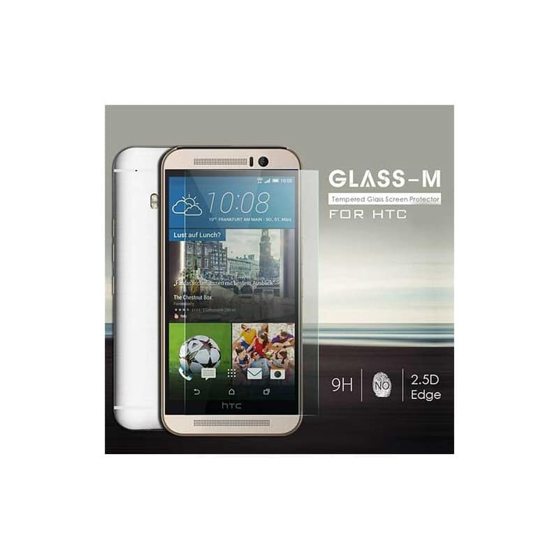 FILM de protection EN VERRE TREMPE pour HTC One M8