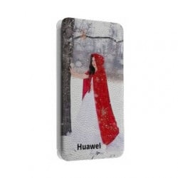 Etui rabattable portefeuille personnalisé pour Huawei P9 Lite