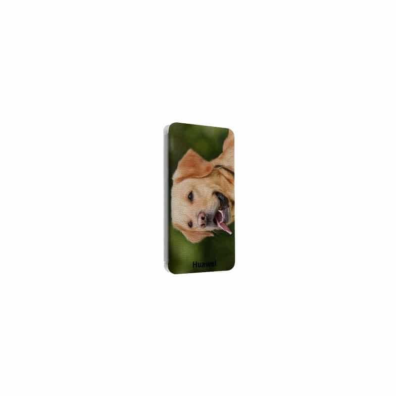 Etui rabattable portefeuille personnalisé pour Huawei honor Y6