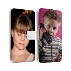Etui rabattable personnalisé recto verso pour LG G4 mini