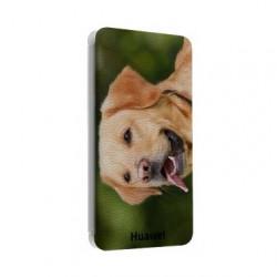 Etui cuir portefeuille personnalisé pour Huawei ascend Y5