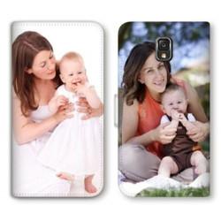 Etui rabattable portefeuille personnalisé pour Samsung Galaxy S8 plus