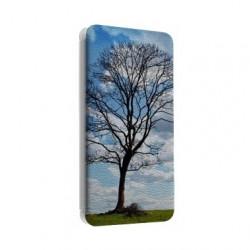 Etui cuir portefeuille personnalisé pour Samsung Galaxy X Cover 4