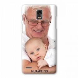 Coque personnalisée pour huawei Y3 à l'aide d'une photo