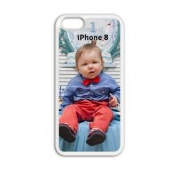 Coque souple personnalisée en silicone pour iPhone 8