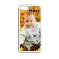 Coque souple personnalisée en silicone pour iPhone 8 PLUS