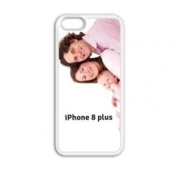 Coque souple FULL 360 personnalisée en silicone pour iPhone 8 PLUS