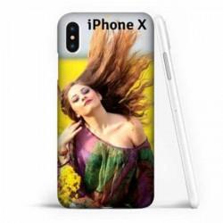 Coque souple personnalisée en silicone pour iPhone X (ten)