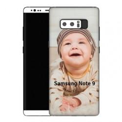 Coque personnalisée pour Samsung Galaxy Note 9 à l'aide d'une photo