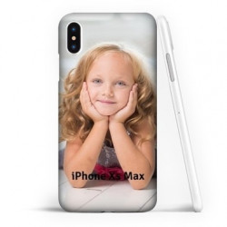 Coque souple FULL 360 personnalisée en silicone pour iPhone Xs Max