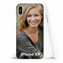 Coque souple personnalisée en silicone pour iPhone Xr