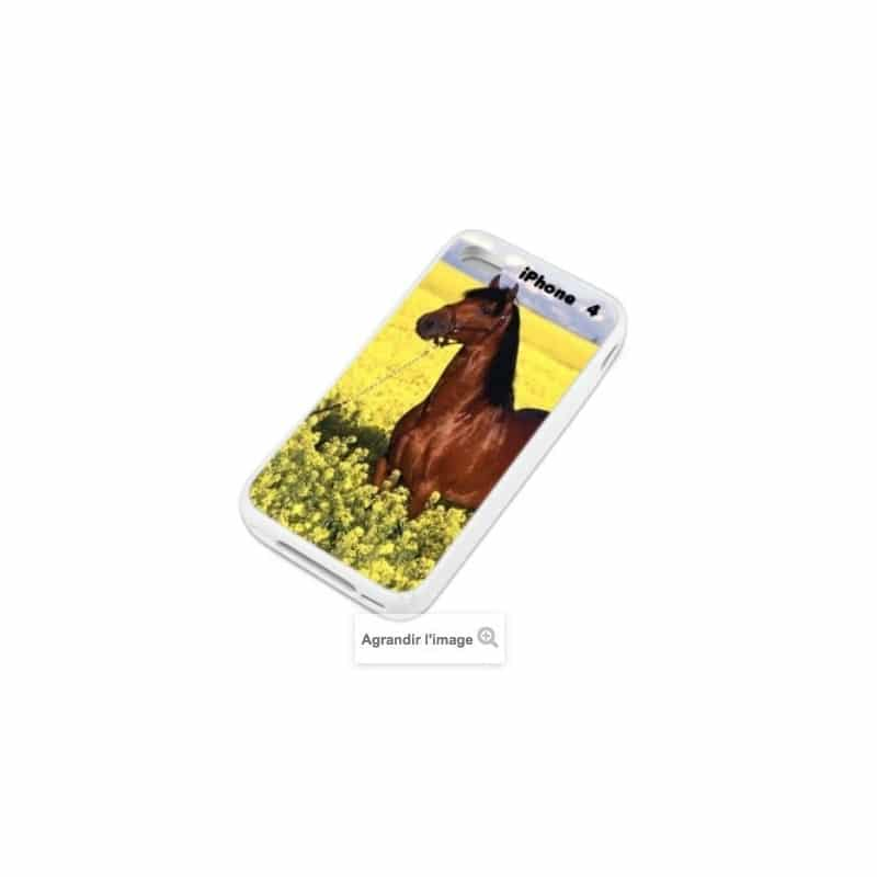 Coque personnalisée pour iPhone 4 / 4S à l'aide d'une photo