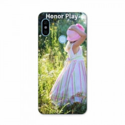 Coque souple FULL 360 personnalisée en silicone pour Huawei Honor Play