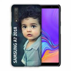 coque personnalisée en gel silicone souple pour samsung galaxy A7 2018