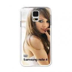 Coque personnalisée pour Samsung Galaxy Note 4 à l'aide d'une photo