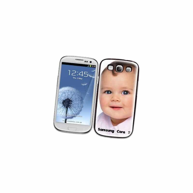 Coque personnalisée pour Samsung Galaxy Core 2 (G355) à l'aide d'une photo