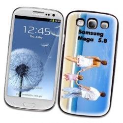 Coque personnalisée pour Samsung Galaxy Mega 5.8 I9150 à l'aide d'une photo