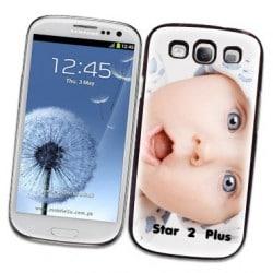 Coque personnalisée pour Samsung Galaxy Star 2 Plus à l'aide d'une photo