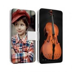 Etui rabattable personnalisé recto verso pour Huawei P30 Lite