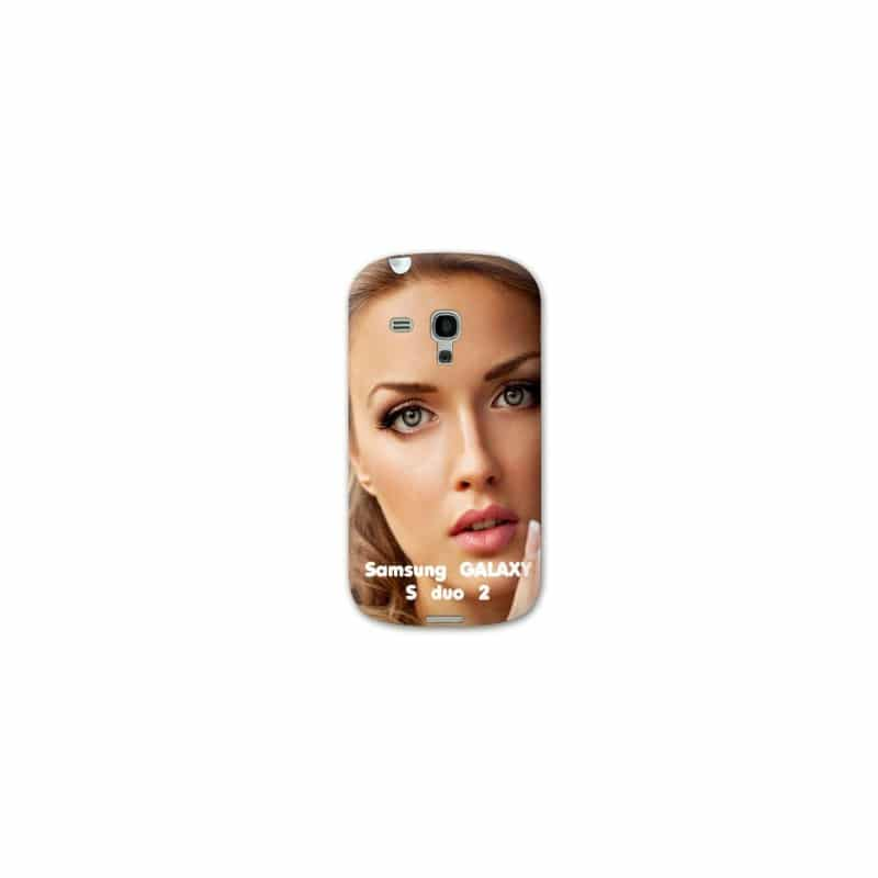 Coque personnalisée pour Samsung Galaxy S Duo 2 à l'aide d'une photo