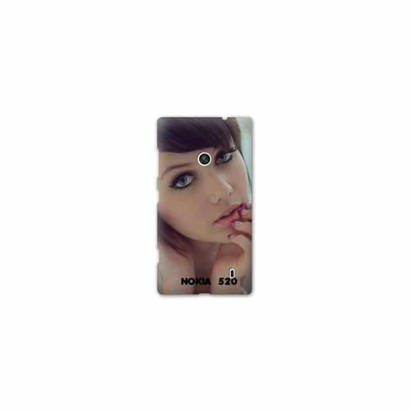 Coque personnalisée pour Nokia Lumia 520 à l'aide d'une photo